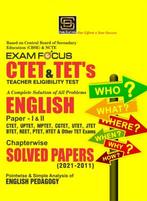 CTET & TET's English Solved Papers